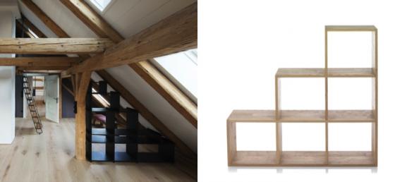 20 Bonnes Idees Pour Meubler Ses Combles Partie 1 Avec Images Combles Rangement Combles Idee Deco Maison
