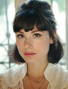 image result for french bob  short hair with bangs short