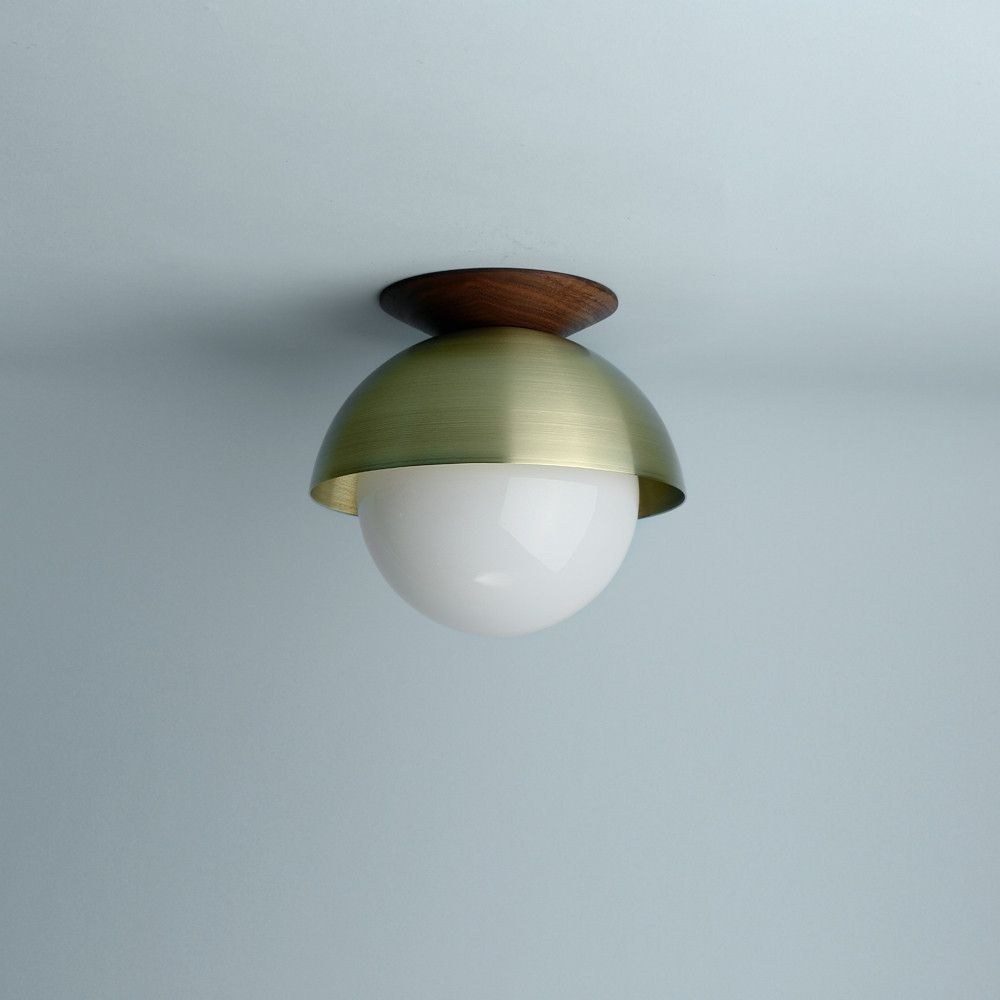 Flush Dome - Wall or Ceiling | Lighting | Pinterest | Ceiling, Walls ...