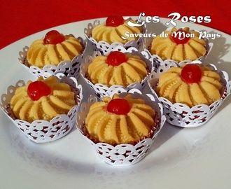Les petites roses (gâteau algérien)