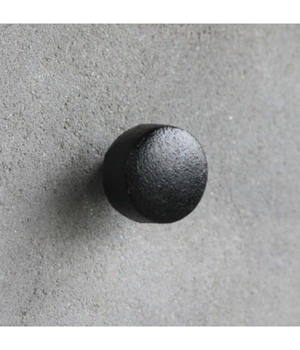 Kastknop Zwart Metaal L Hal Google Home Mini