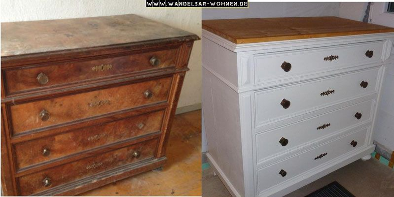 kreidefarbe shabby chic chalk paint annie sloan acrylfarbe schablone shabby chic mit zwei. Black Bedroom Furniture Sets. Home Design Ideas