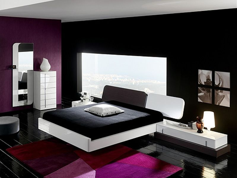 Home Interior Design Bedroom Beauteous Black And White Bedroom Color Ideas On Home Interior Design 2773 . Decorating Inspiration