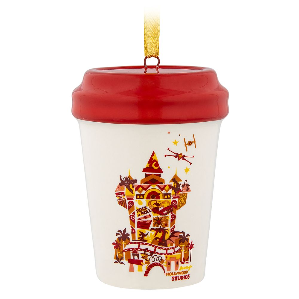 Disney's Hollywood Studios Starbucks Cup Ornament | shopDisney #disneycups #disneycups