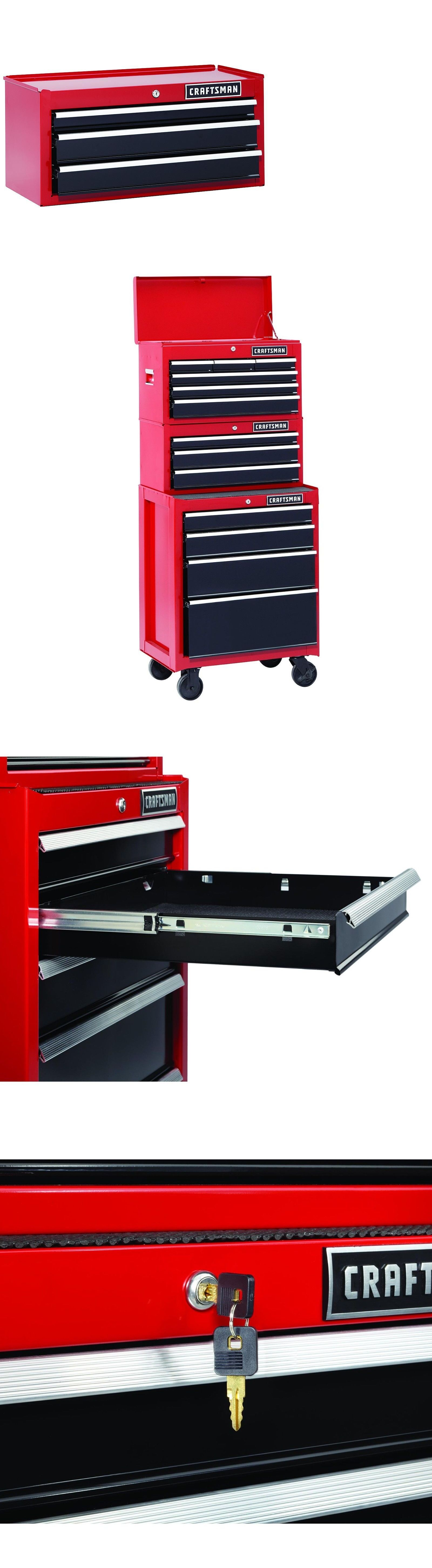 Tool Boxes 33089: Craftsman 26 In  3-Drawer Heavy-Duty Ball Bearing