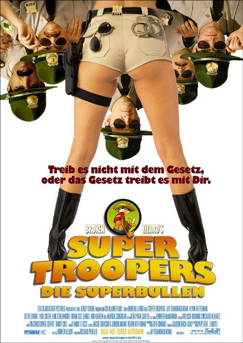 Super Troopers , starring Jay Chandrasekhar, Kevin ...