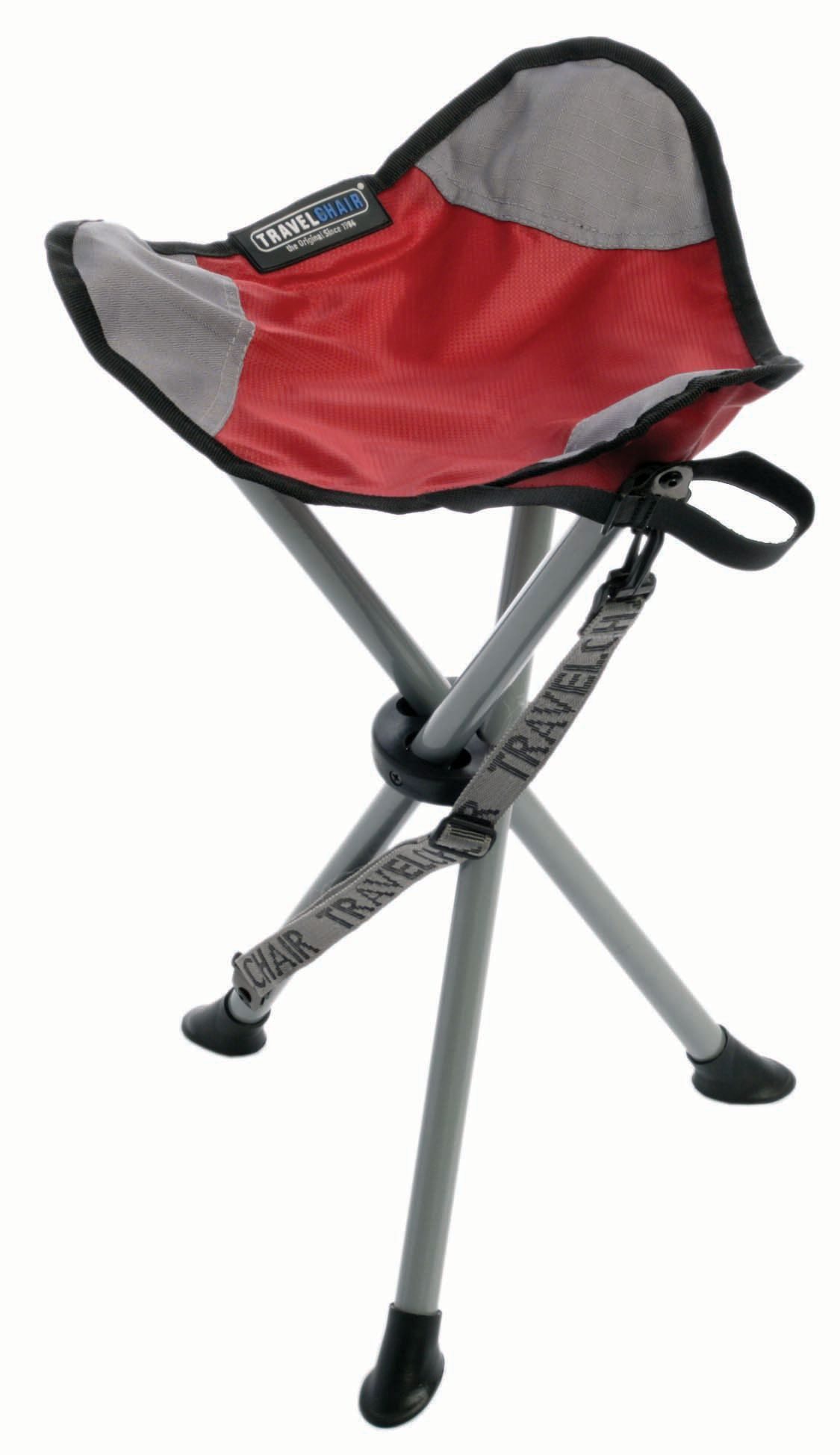 Travelchair Slacker Stool Red Camping Chairs Camping