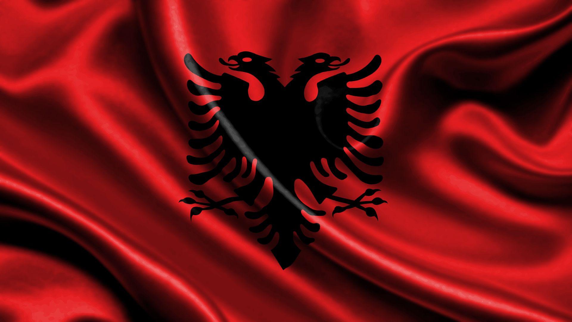 Albania Flag Free Large Images Albania Flag Albanian Flag Albania