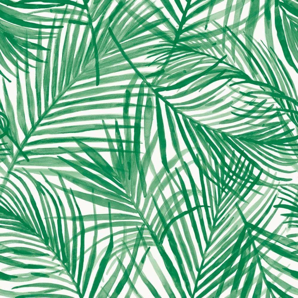 Tropical Peel Stick Wallpaper Green Opalhouse Tropical Wallpaper Aesthetic Wallpapers Green Wallpaper