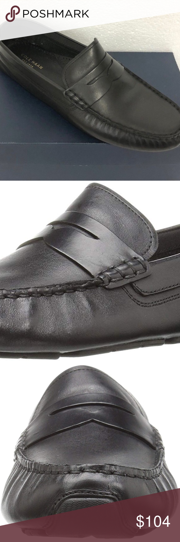6ad602b4947 Cole Haan women rodeo driver penny loafers black 8 STYLE NAME  RODEO PENNY  DRIVER STYLE