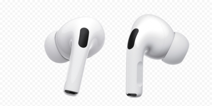 New White Apple Airpods Pro Transparent Background Citypng In 2021 Apple Watch Models Transparent Background Transparent