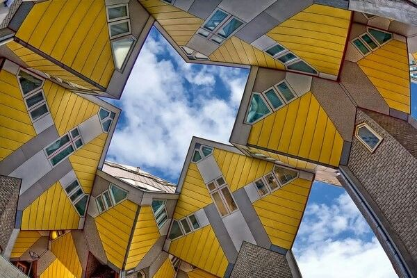 Casas cubo Rotterdam Arquitectura, Casas y Holanda