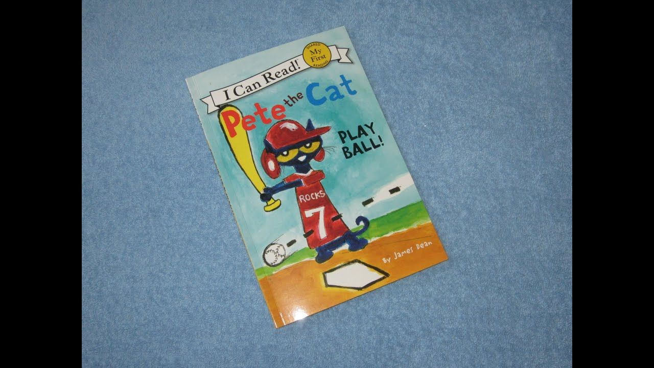 Pete The Cat Play Ball Children S Read Aloud Story Book For Kids By J Kids Story Books Kids Reading Pete The Cat