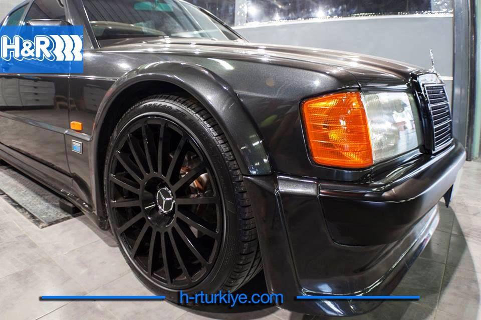 1 Hr Photo >> Mercedes Benz 190e 2 3 Amg Evo 1 H R Cupkit Seti Www H Rturkiye Com