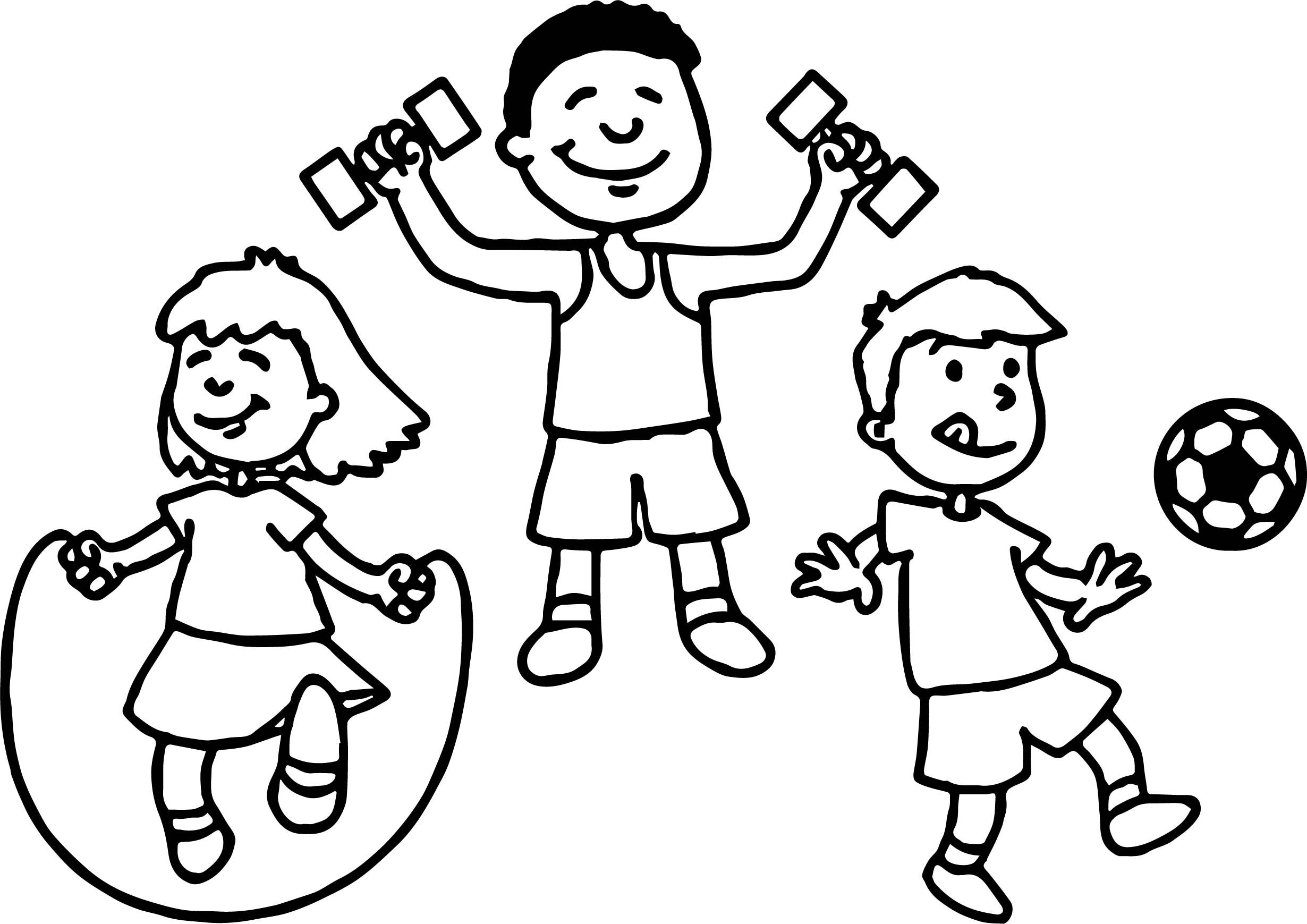 Awesome May Sports Coloring Page