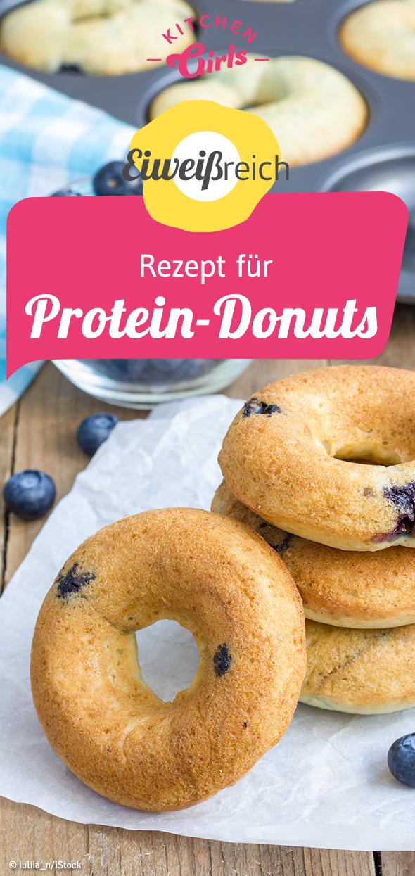 Rezept für Protein-Donuts #proteindonuts