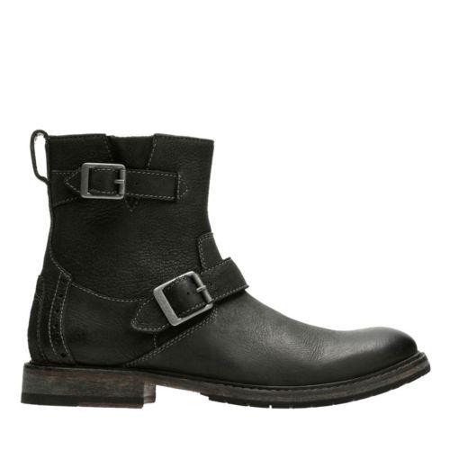 Clarkdale Cash Black Nubuck - Men's Casual Boots - Clarks® Shoes Official  Site