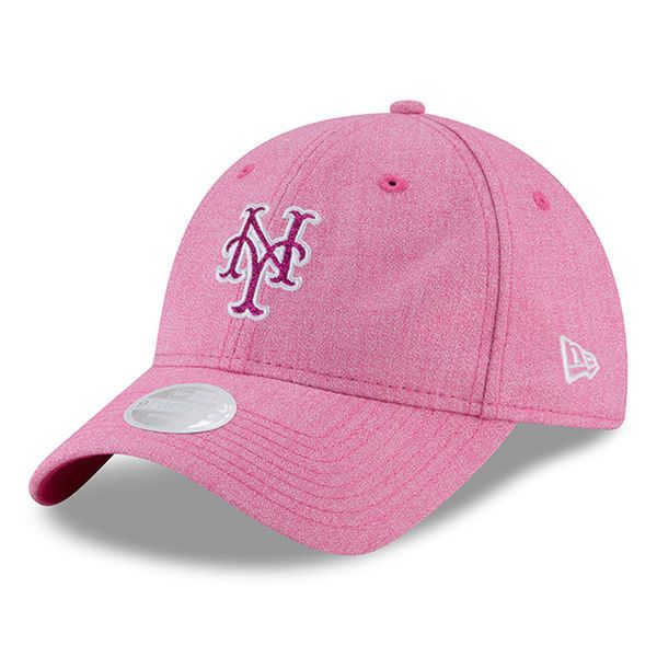 brand new 79592 29ee8 Women s New York Mets New Era Pink 2018 Mother s Day Team Glisten 9TWENTY  Adjustable Hat