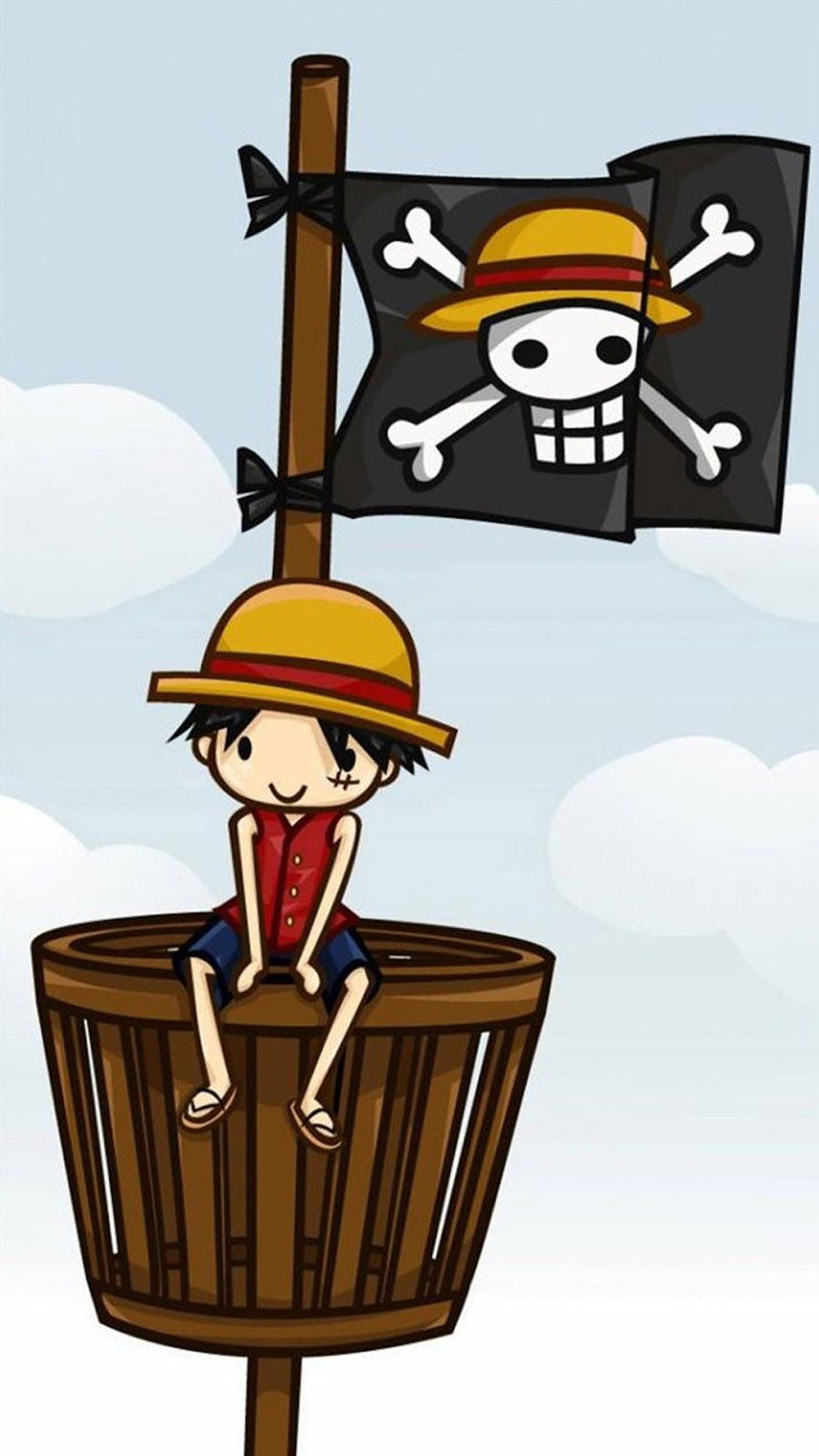 Wallpaper iphone one piece - One Piece Luffy Iphone 7 Iphone 7 Plus Wallpaper