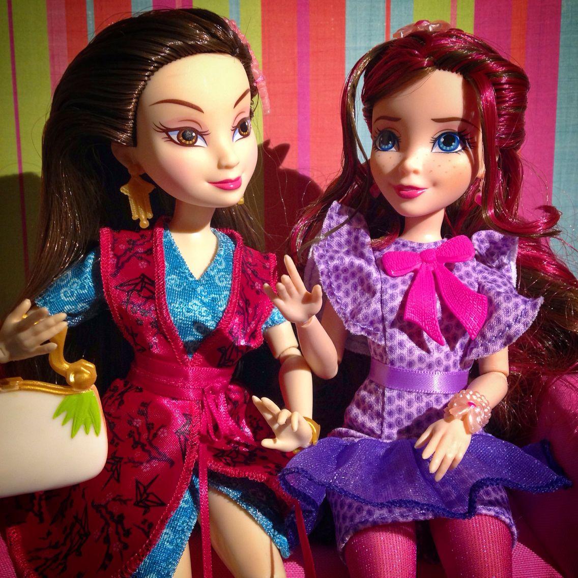 Lonnie and Jane Disney channel descendants, Disney