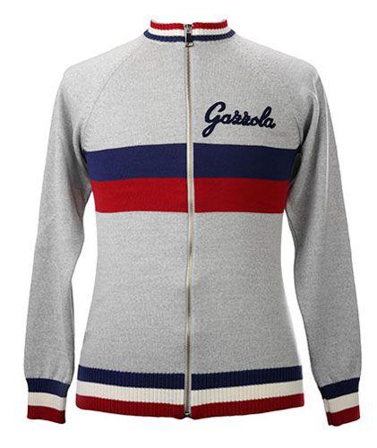 Gazzola Merino Wool track top by Magliamo  8ba32cb1e