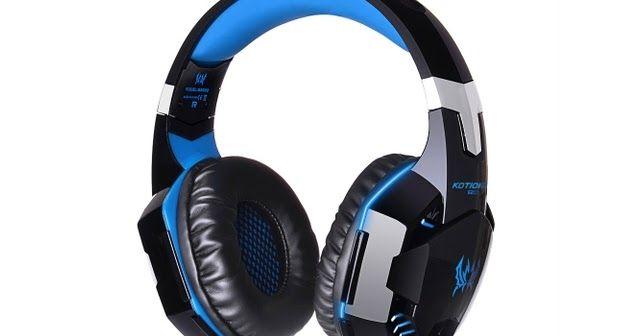 #GamingHeadphone #HeadsetEarphone #StereoBass #LEDLight for PC Game ~ Chakaz Deals  http://lnk.al/aMH