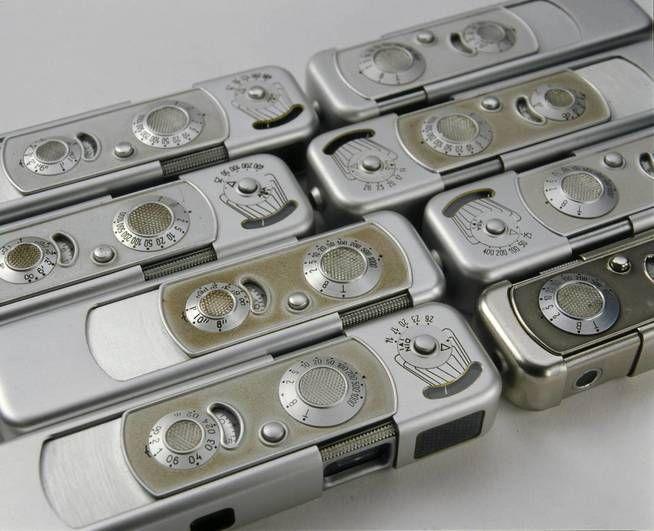 el clásico de las cámaras folleto del producto Minox