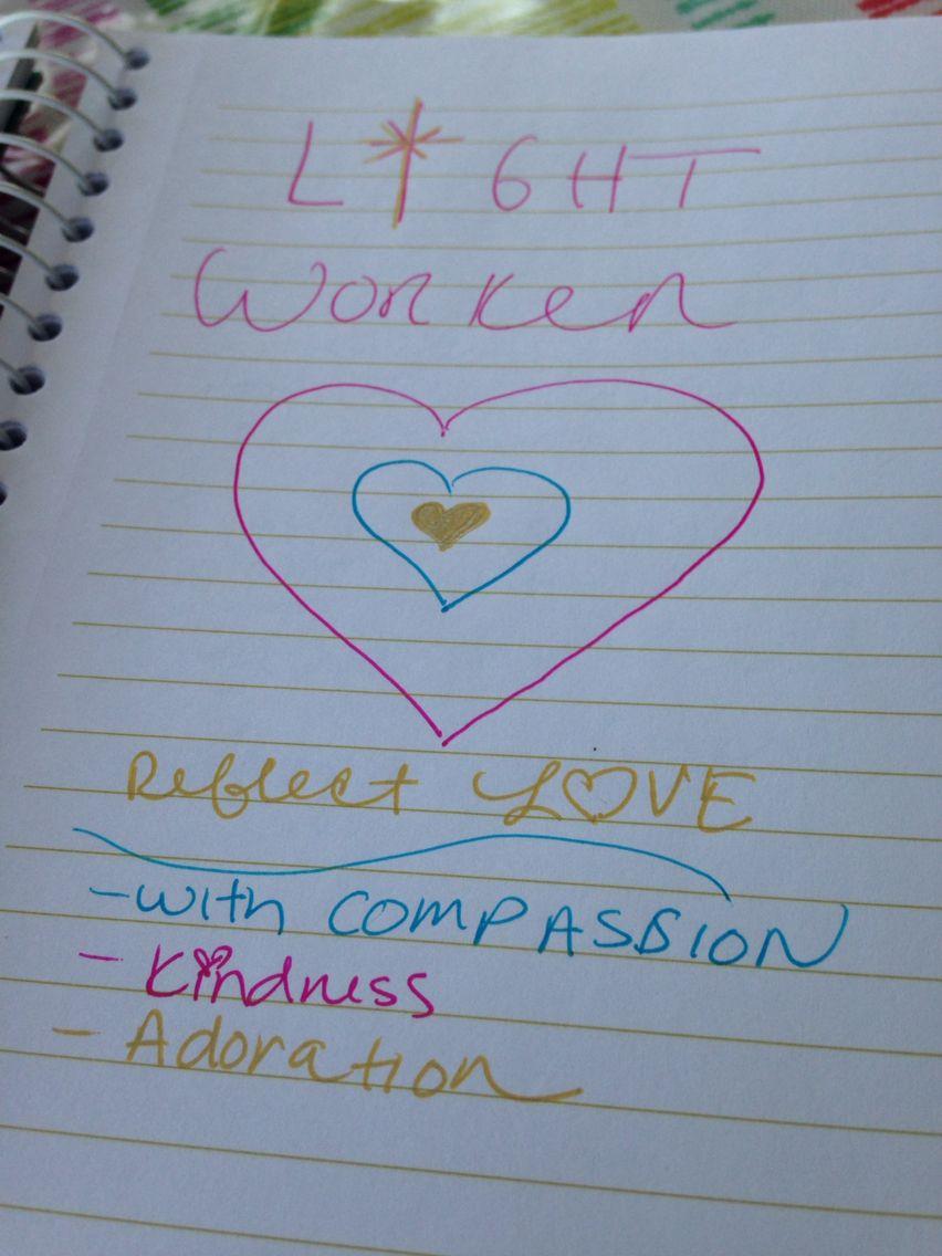 Lightworker doodles