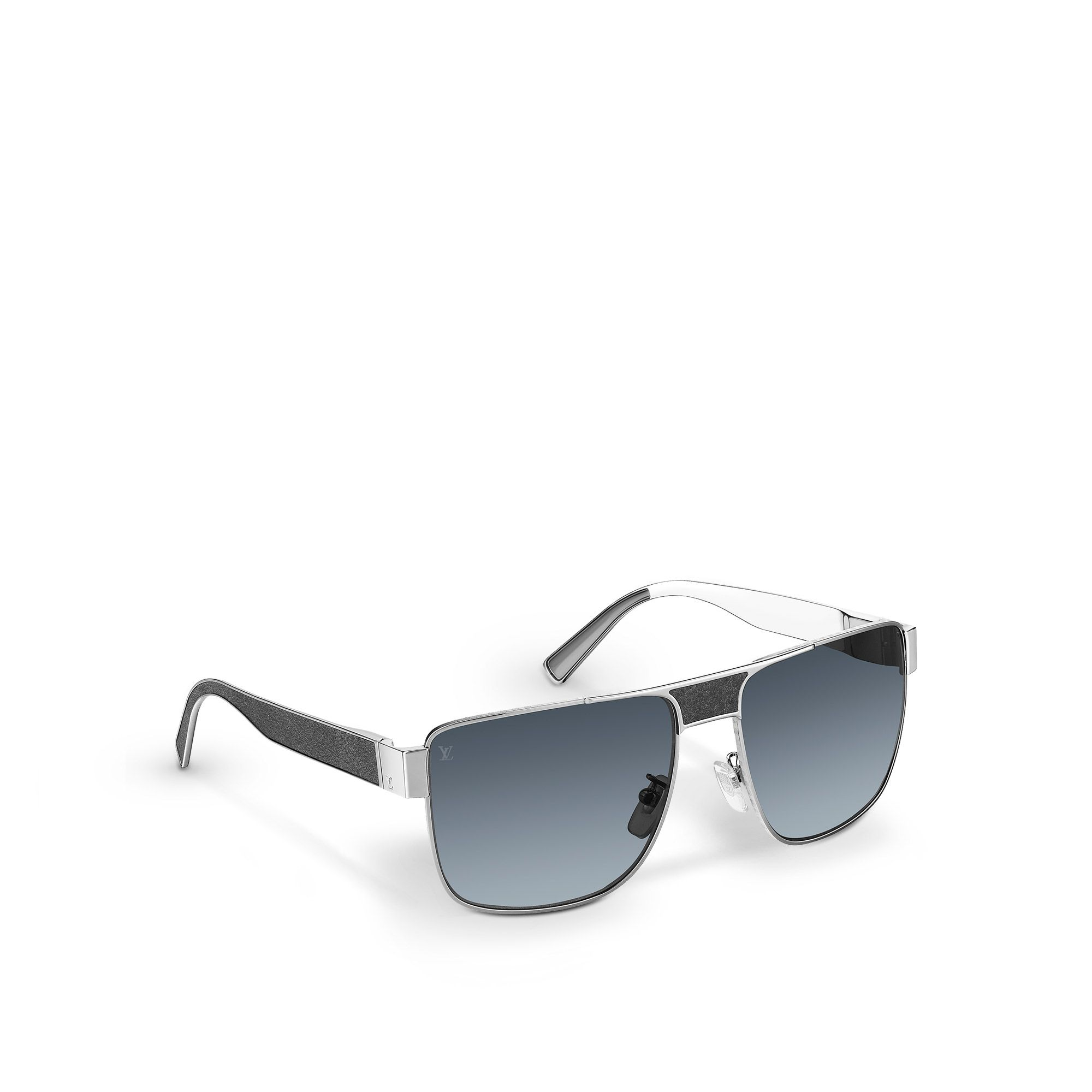 Available in silver and gold, the Louis Vuitton Jimmy Mix sunglasses ...