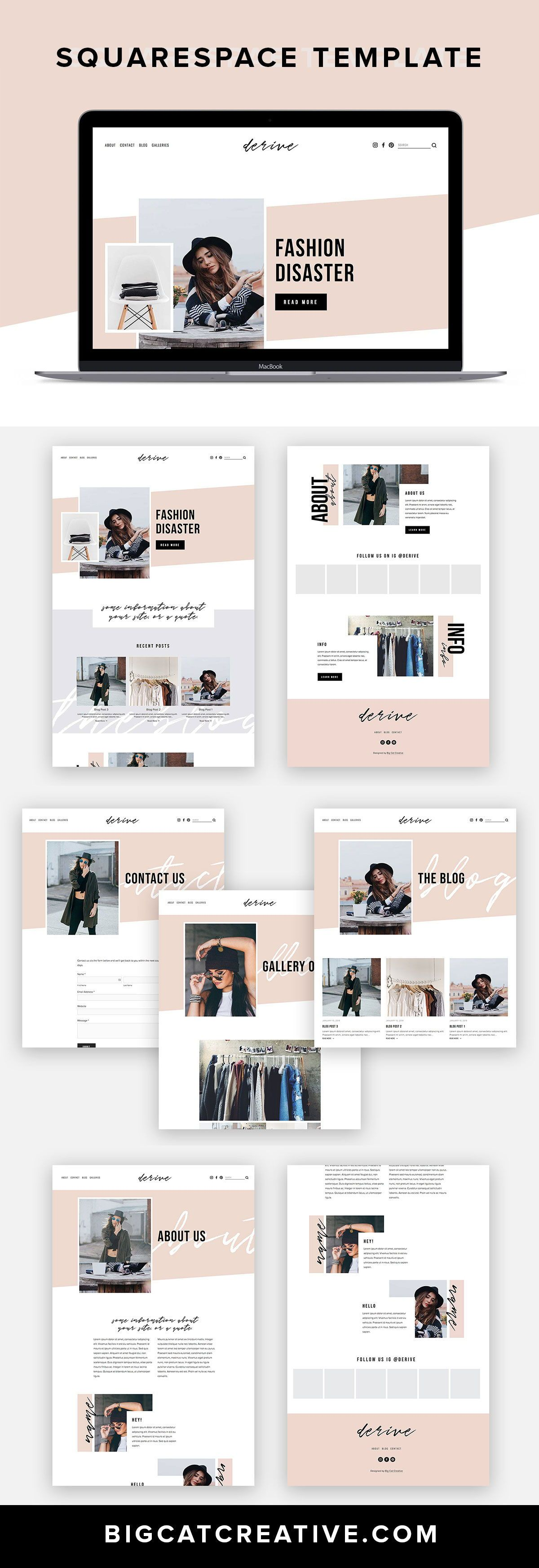 Big Cat Creative | Squarespace Templates