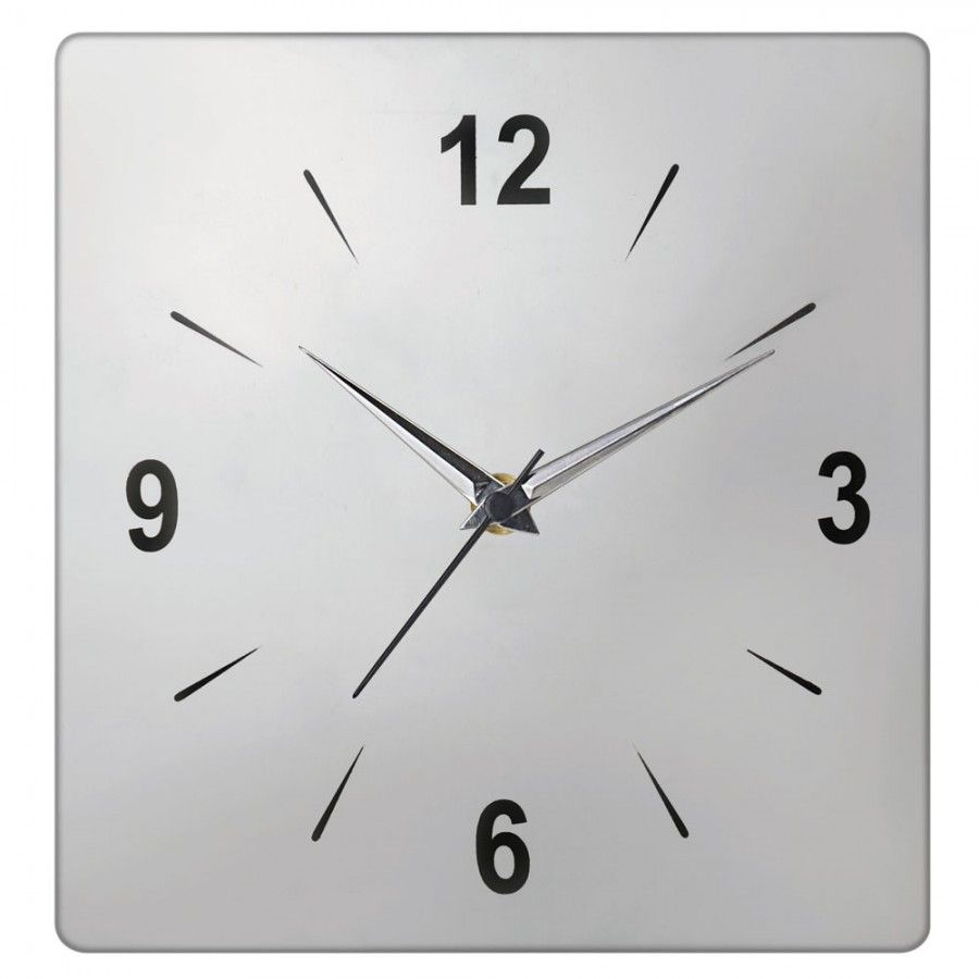 jag fox product name  square wall clock material  stainless  - jag fox product name  square wall clock material  stainless steel size  x  x  inch total no of pieces   piece key features a square