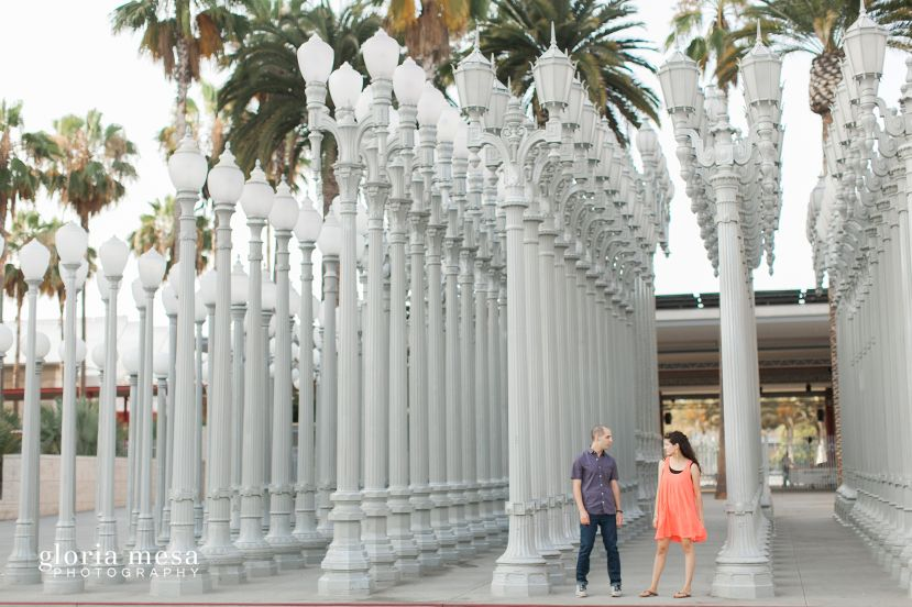 Engagement Session  LACMA by Gloria Mesa Photography