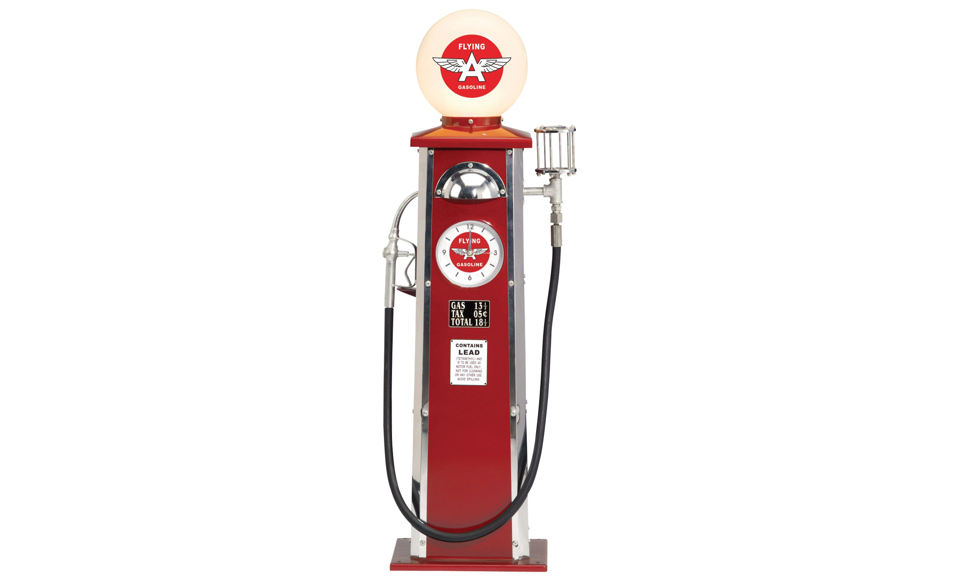 Flying A Old Time Gas Pump 40in H Www Kotulas Com Free Shipping I Would Truly Love To Have This Gas Pumps Gas Lamps For Sale