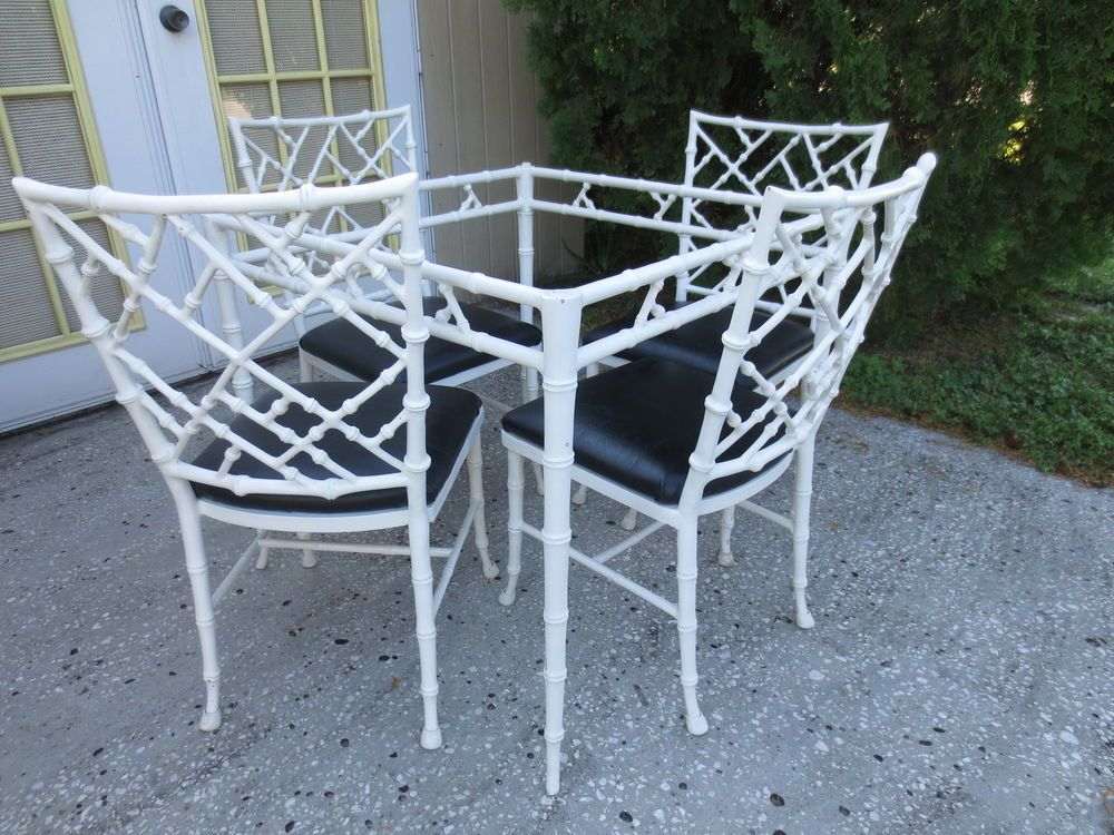 US $1,750.00 Used in Home & Garden, Furniture, Dining Sets, Phyllis Morris  faux bamboo Chinese Chippendale - US $1,750.00 Used In Home & Garden, Furniture, Dining Sets, Phyllis