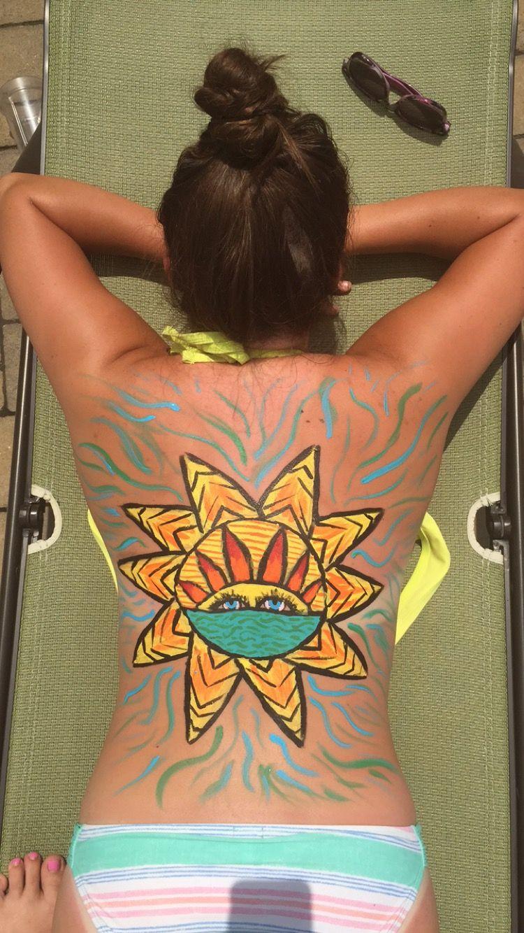 Pin Pinqueenkrys Insta Krystinnelson Body Painting Body Art Painting Body Art