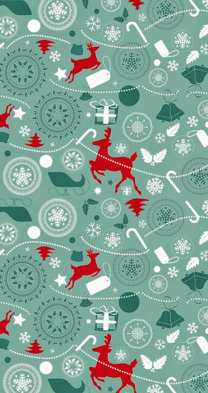 クリスマス かわいいクリスマスパターン Wallpaper Iphone Christmas Christmas Phone Wallpaper Christmas Tree Wallpaper Iphone