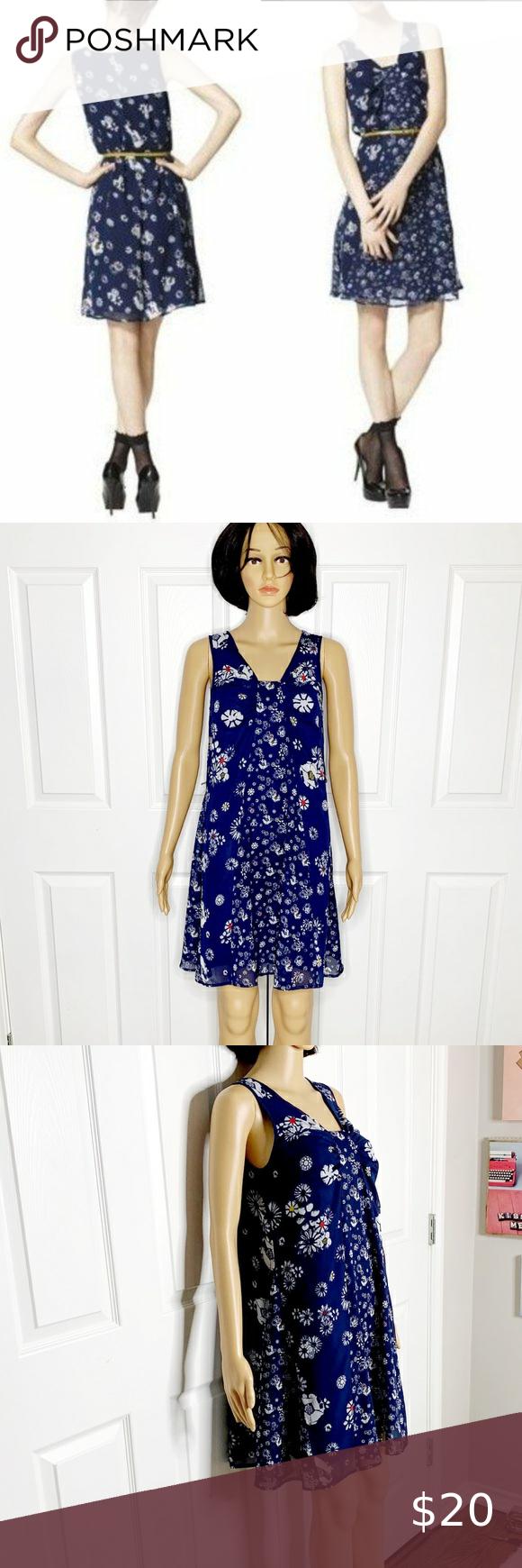 Jason Wu For Target Blue Floral Dress Size Xs Jason Wu Dress For Target Size Xs Beautiful Dress For Spring And Summer T Floral Blue Dress Floral Dress Dresses [ 1740 x 580 Pixel ]