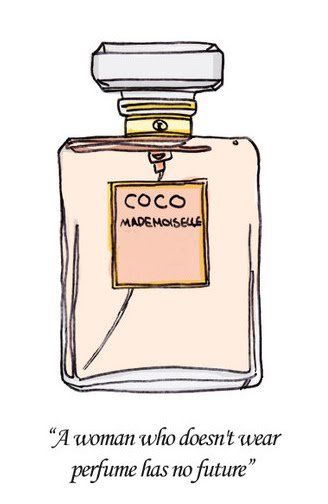 Coco Chanel Parfume Phrase Coco Chanel Mademoisellemy