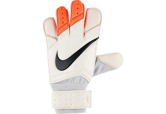 Nike Vapor Grip 3 Goalkeeper Glove - White and Crimson - SoccerPro.com