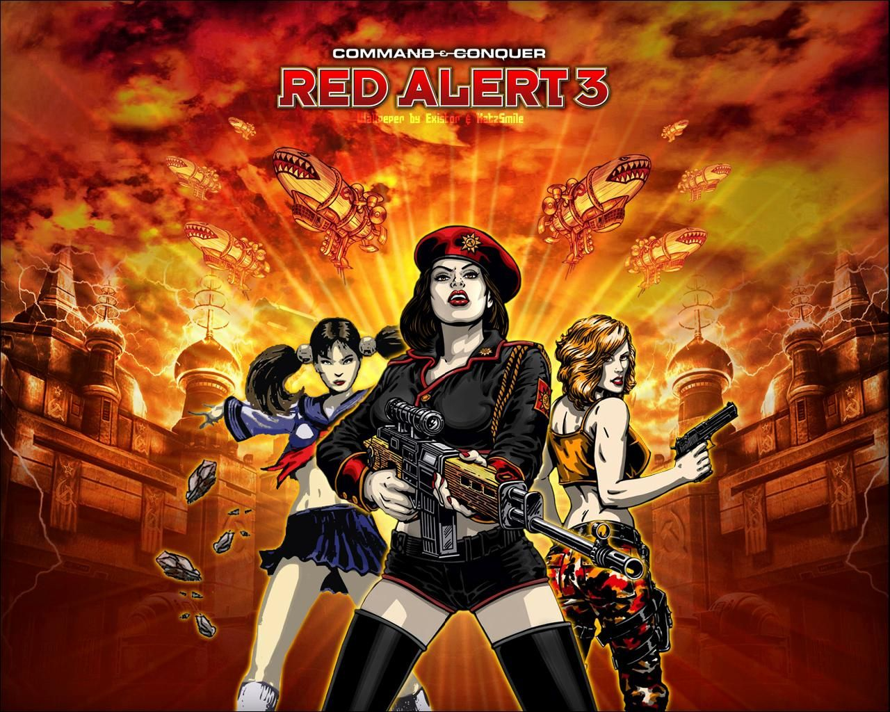 command and conquer red alert 3 uprising mac download