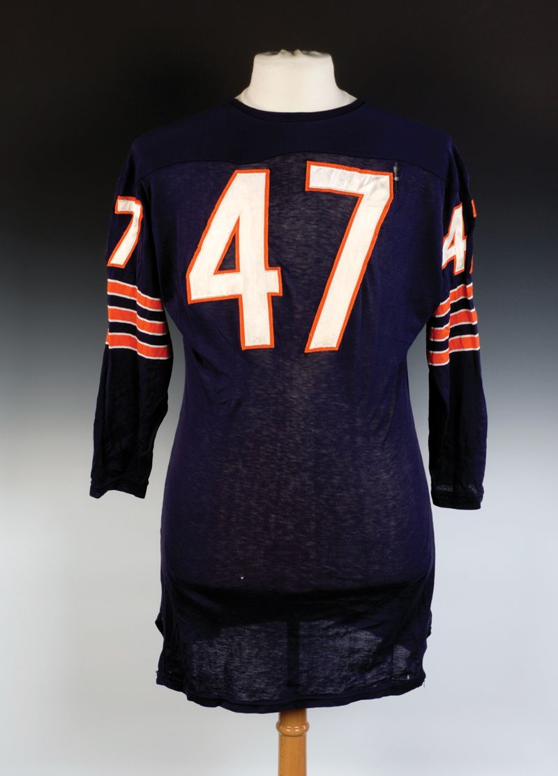 brand new bd079 39e0a Johnny Morris - Mid 60's Chicago Bears game worn jersey | Da ...