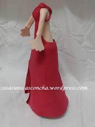 Resultado de imagen de fofucha vestido fiesta