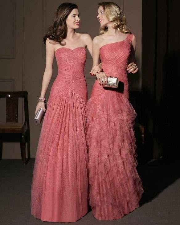 Vestidos de festa para madrinhas e formandas | Vestidos, Gowns and ...