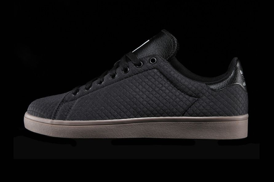 adidas Stan Smith Vulc Chaussure - core black white Ajq63P