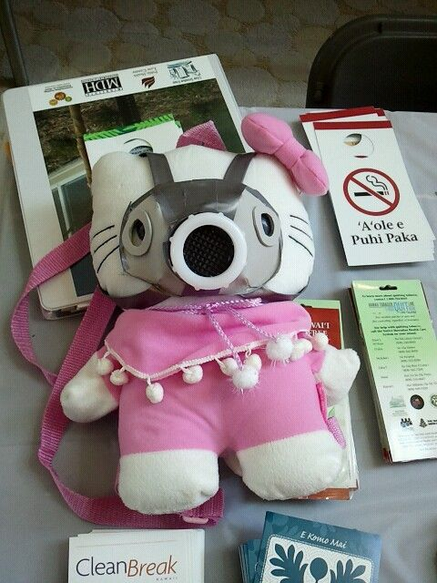 67de2a8d2 I saw this Hello Kitty gas mask at a convention. | Hello Kitty ...