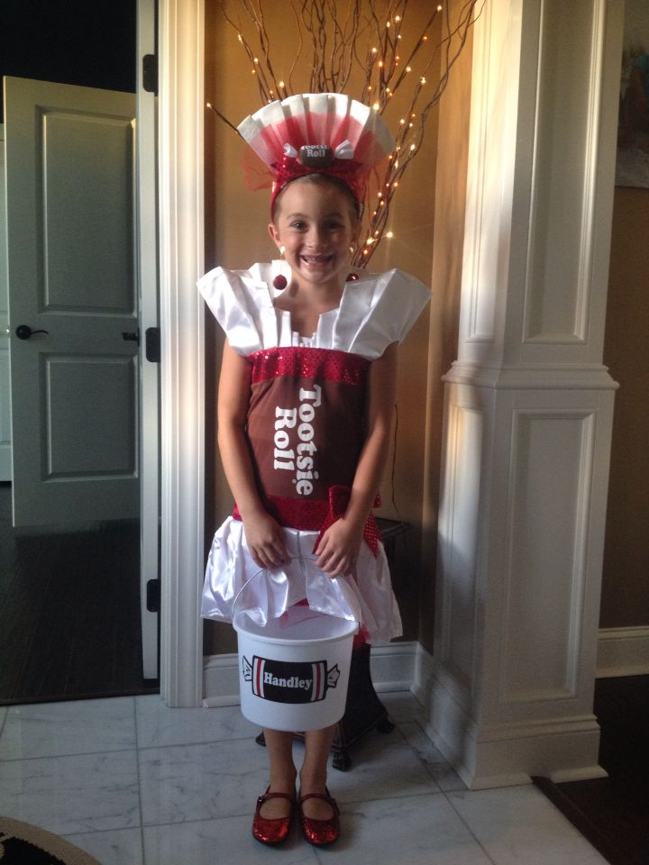 Tootsie Roll Costume Halloween Pinterest Tootsie Roll Costume