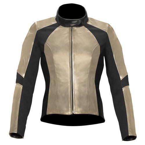 Alpinestars Womens Vika Leather Motorcycle Jacket a95dd0d03a