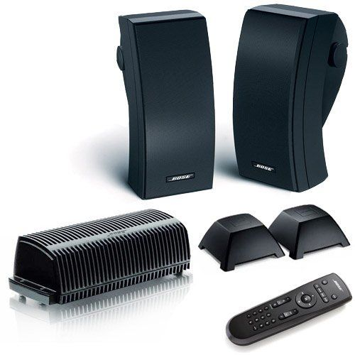 Bose 251 (Black) Outdoor Expansion Wireless Package for ...