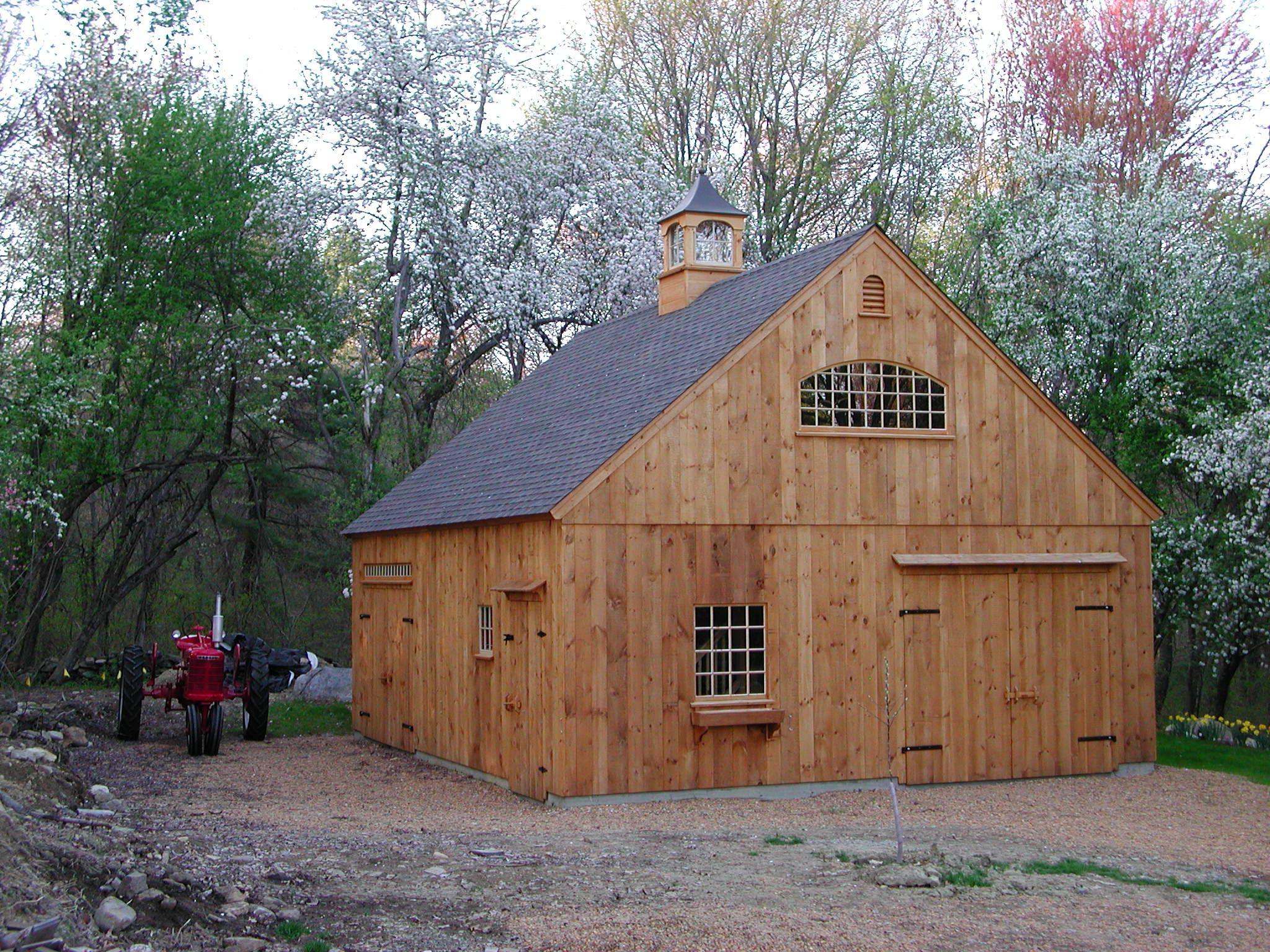 24'x 30' Story Barn