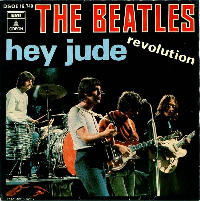 Beatles ~ Hey Jude /Revolution~ Odeon DSOE 16.740 ~ Spain 1968